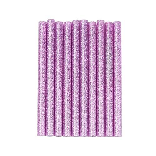 A1-Brave Barras de Silicona, 10 unids 7x100mm Pink Hot Melt Glue Sticks Electric Glue Gun Model Art Craft Album Repair DIY Heatin