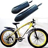 Guardabarros De Bicicleta 2 UNIDS BICICLETA BICICLE FENDER MUDGUARD WINS WINGS AMANDO FERMANOS DE GUERDA DE MUD DE LA TRASERA FORTE PARA MINCTAS MTB Accesorios de ciclismo Aparecidos de barro Guardaba