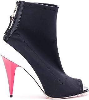 Luxury Fashion | Elisabetta Franchi Women SA06F91E2110 Black Synthetic Fibers Sandals | Season Outlet