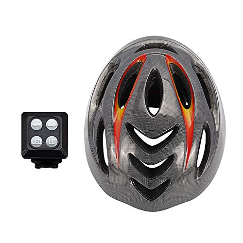 Smart Bike Casco Señales de Giro Remoto Tail Luces LED Manillar inalámbrico...