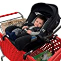 Totes Babies - Car Seat Carrier for Shopping Carts, Allows Babies, Newborns, Infants and Toddlers to Stay Snug or Sleeping in Car Seat While Parents Shop, As Seen on Shark Tank
