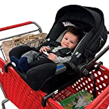 totesbabies Totes Babies | Car Seat Carrier | Fits Most Shopping Carts | Holds All Car Seat Models | Shopping with Babies Made Simple | Meets All CPSC Safety Standards | Hammock Style Design