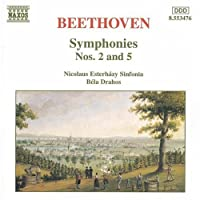 Symphonies 2 & 5 by BEETHOVEN (1997-04-29)