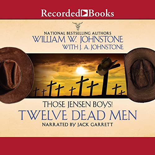 Twelve Dead Men audiobook cover art