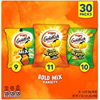 Pepperidge Farm Goldfish Crackers Bold Mix with Cheesy Goldfish Mix