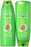 Garnier Fructis Fall Fight, For Falling Breaking Hair, DUO Set Shampoo + Conditioner, 13 Ounce, 1 Each