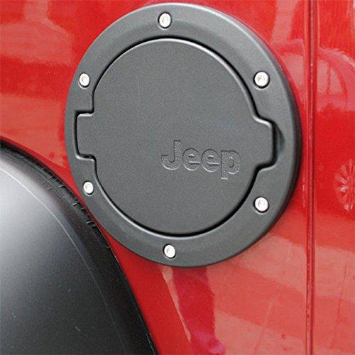 Nuevo ajuste negro de la cubierta de la puerta de la tapa del tanque de gasolina del ABS del ABS 1X