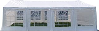 American Phoenix Party Tent 16x26 Heavy Duty Large White Canopy Commercial Fair Shelter Wedding Events Canopy Tent - (White, 16x26)