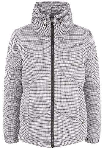 OXMO Fenja Damen Steppjacke Übergangsjacke Jacke mit Stehkragen, Größe:L,...