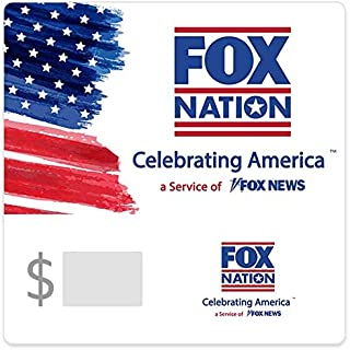 Fox Nation Subscription 12 Month Gift Card- Email Delivery