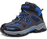 Botas de Senderismo Zapatos de Algodón Botas para la Nieve Botas de Invierno para Unisex Niños, 30 EU, 1 Azul