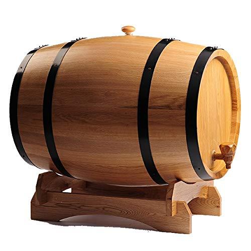 GFFTYX Barril de Vino - 3-30L Multi-Liner Capacidad de Libre Roble fermentación en barrica Puede almacenar vinos, licores y Whisky (Color : A, Size : 50L)