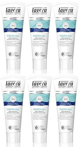 (6er BUNDLE) | Lavera Neutral Zahngel 75 ml | 75ml - Lavera