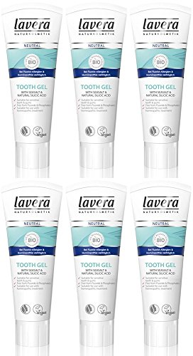 (6er BUNDLE) | Lavera Neutral Zahngel 75 ml | 75ml - Lavera