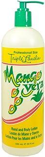 Triple Lanolin Mango Vera Hand and Body Lotion 20oz