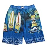 Despicable Me Little Boys Minions Character Board Shorts, 4/5