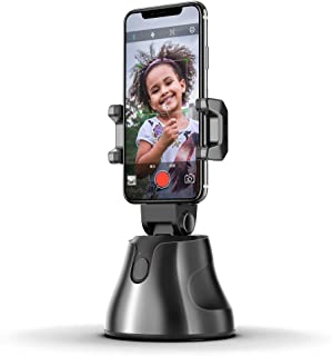 Fmystery Selfie Stick,360°Rotation Auto Face&Object Tracking Smart Shooting Camera Phone Mount,Cature 360°Camera Men Selfi...