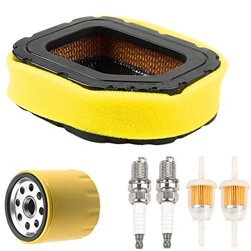 Powtol 32 083 03-S 32 883 03-S1 Air Filter with 52 050 02-S Oil Filter Tune Up Kit for Kohler Courage KH-32-083-03-S SV710 SV715 SV720 SV730 SV735 SV740