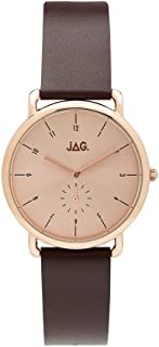 JAG Women's J2106 Year-Round Analog Quartz Purple Watch
