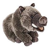 Wildlife Tree 12 Inch Wild Boar Stuffed Animal Floppy Plush Kingdom Collection