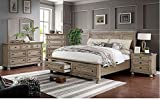Carefree Home Furnishings Wells 6-Piece Bedroom Set (King)