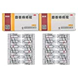 2 Boxes of Ma Ying Long Musk Hemorrhoids Ointment Suppository (12 Count/Box, 24 Count in Total) with US English Instruction