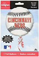 Anagram International Cincinnati Reds Package Party Balloons, 18, Multicolor by Anagram International