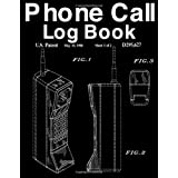 Phone Call Log Book: Simple Telephone Record Space Message Phone Numbers Email Inbound/Outbound Call Tracker | Motorola 8000x Patent Cover