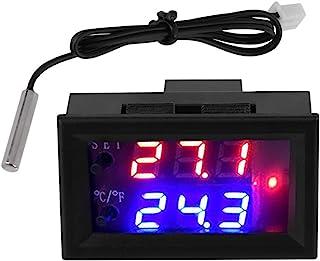 DC12V temperatuurschakelaar, digitale microcomputer thermostaat met sensor, thermostaat Geïntegreerde microcomputer bediening