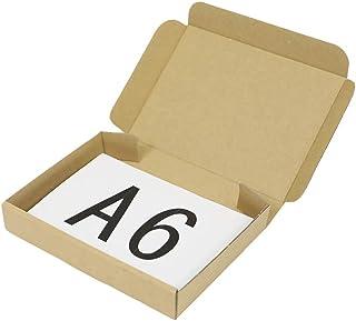 アースダンボール ダンボール 段ボール クリックポスト A6 ゆうパケット 発送 30枚 【158×115×27mm】【0404】