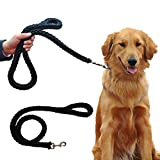 <span class='highlight'><span class='highlight'>Anlitent</span></span> Classic Strong Dog Leads to Stop Pulling for Walking,Running, Basic Dog leashes for Medium Large Dog Training Lead for Pets Dogs (Black)