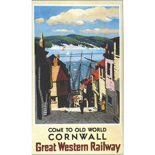 1906 Great Western Railway to Ireland Art Travel Advertisement Poster Print