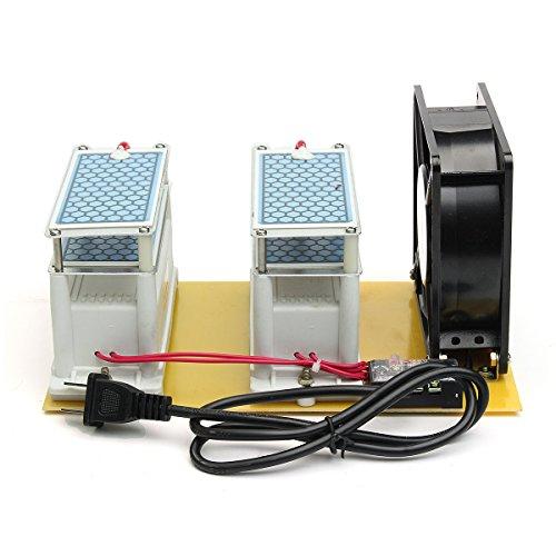 AC 220V 20g Ozone Generator + Fan Ozone Disinfection Machine Air Purifier Tool