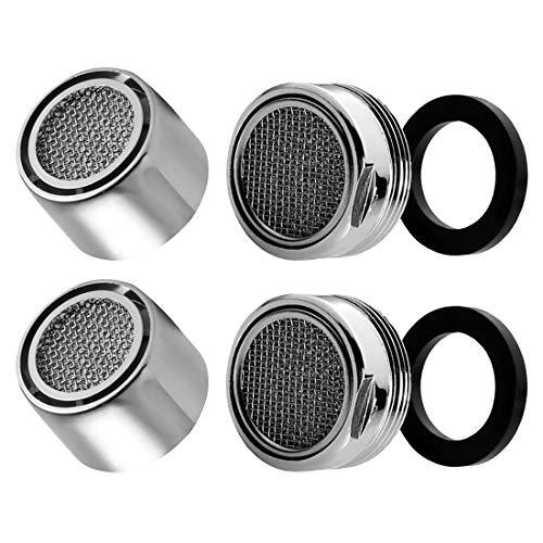 EUROXANTY® Filtro aireador para grifo | Atomizador de agua | Filtro para grifos | Menor consumo de agua | filtro Abs y malla metálica | Con junta de goma | SET Hembra y macho