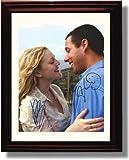 Framed Adam Sandler and Drew Barrymore Autograph Replica Print - 50 First Dates