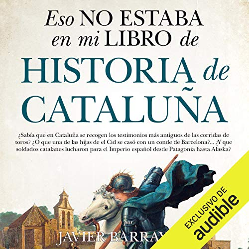 Diseño de la portada del título Eso no estaba en mi libro de Historia de Cataluña