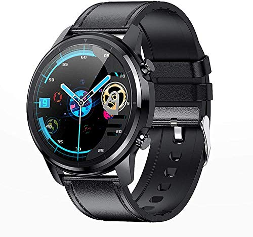 LF26 Bluetooth 5.0 reloj inteligente 1.3 pulgadas 360 * 360 HD pantalla impermeable reloj inteligente hombres s ritmo cardíaco presión arterial C