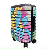 MightySkins Skin Compatible with Away The Carry-On Suitcase - Twisted Wonderland | Protective, Durable, and Unique Vinyl Decal wrap Cover | Easy to Apply, Remove, and Change Styles | Made in The USA