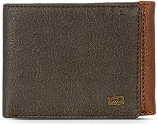 Baggit Men's Synthetic Wallet (Sate Y G Z)(Brown)