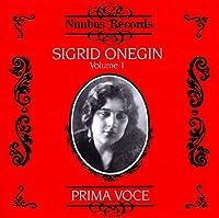 Prima Voce - Sigrid Onegin, Volume 1