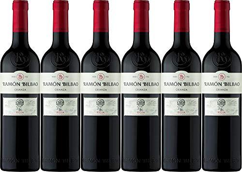 6x Ramon Bilbao Crianza Rioja DOCa 2017 - Weingut Bodegas Ramón Bilbao, La Rioja - Rotwein