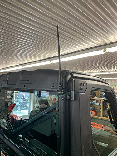 2015-2022 Polaris Ranger Full Size 570/900 / 1000 Amplified FM Antenna Kit - Works Together with All cab Systems - 100%