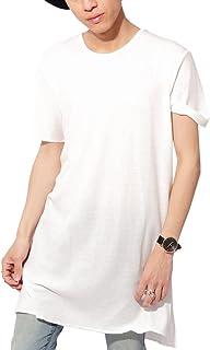 (ベストマート)BestMart サーマル 選べる 裾デザイン 長袖 半袖 ロング丈 カットソー ラウンド ボックス ストレッチ メンズ 621327