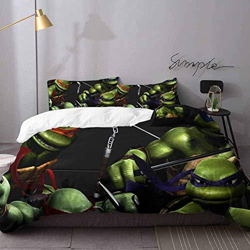 ninja turtle blanket queen - 8