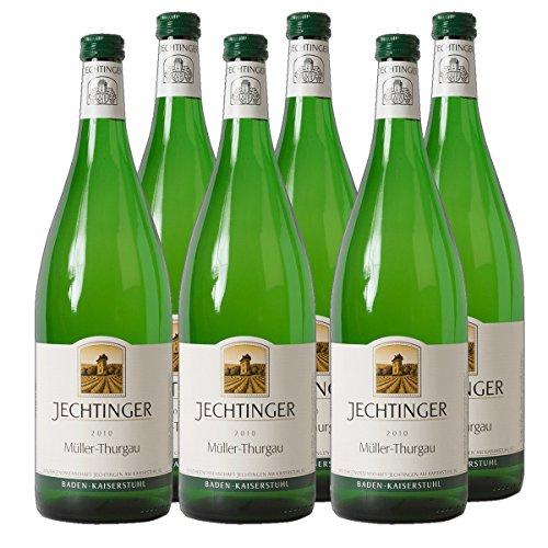 Jechtinger Müller Thurgau Weißwein Baden Württemberg Liter 2019 halbtrocken (6x 1 l)