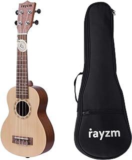 Rayzm Ukelele Soprano con Bolsa, Ukelele de Iniciación 21