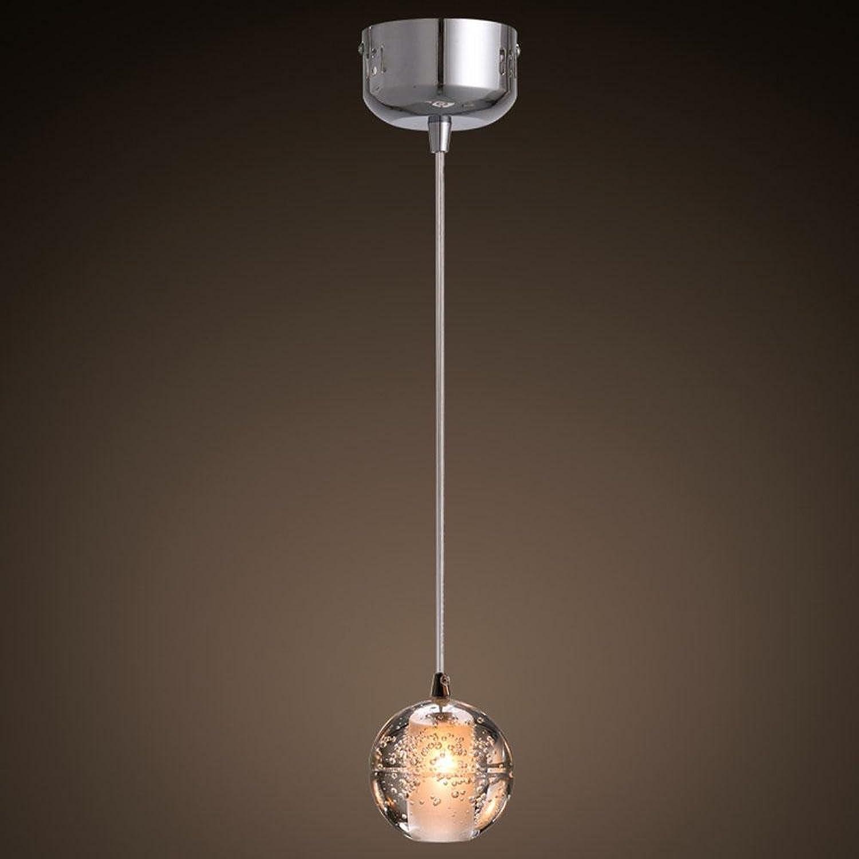Le mini - boule de cristal chef unique chambre de lumière, moderne minimaliste, couloir, bar, restaurant