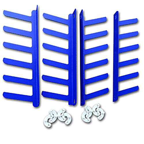 Screen Printing Squeegee Rack Squeegee Holder Suitable For Any Size Squeegee in Blue 12-219307