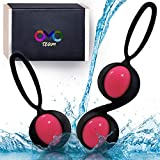 Kegel Balls for Tightening, Ben wa Balls for Womem, Shaking in Response to Your Body's Movements, Exercise Weights Set - Bladder Control &Strengthening Pelvic Floor Muscles