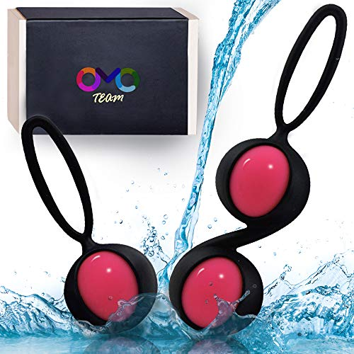 Kegel Exerciser for Tightening, Ben Wa Balls for Womem, Shaking in Response to Your Bodys Movements, Exercise Weights Set - Bladder Control & Strengthening Pelvic Floor Muscles
